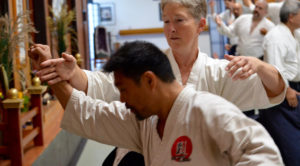 Linda Eskin at Aikido of Redlands
